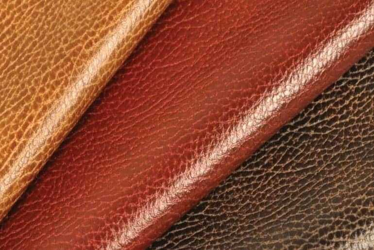 what leather does coach use
