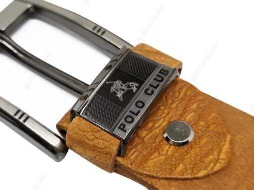 Dây nịt nam da cây cao cấp DHM-035 | Mặt thắt lưng khóa kim nguyên khối nam tính
