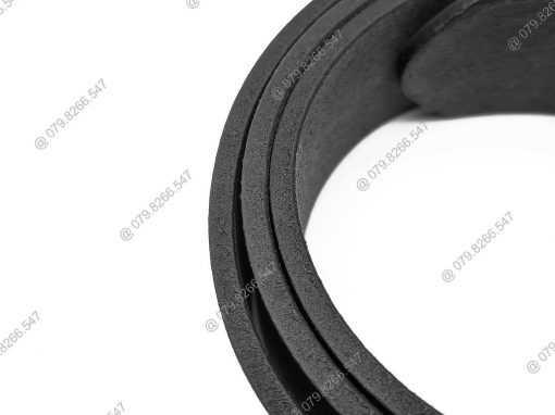 Dây lưng da bò 100% DHM-058 | Mặt lưng khóa kim nguyên khối thời trang