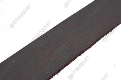 Dây nịt nam da sáp DHM-108 | Mặt lưng khóa kim nguyên khối nam tính