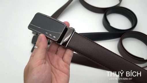 Thắt lưng nam giả da cao cấp DHM-098 | Khóa lưng tăng sang trọng