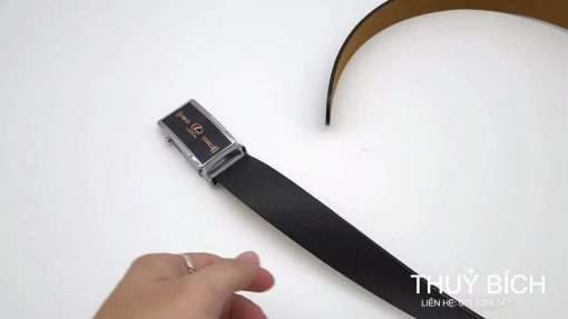 Dây nịch da cao cấp DHM-186   Mặt lưng khóa lăn nguyên khối thời trang