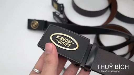 Dây nịch nam da pu cao cấp DHM-066 | Đầu dây nịt lăn sang trọng