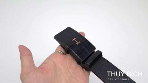 Dây lưng giả da cao cấp DHM-229| Đầu dây nịt lăn nguyên khối mạnh mẽ