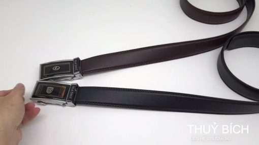 Dây nịch da pu cao cấp DHM-217 | Mặt lưng khóa tăng nguyên khối thời trang
