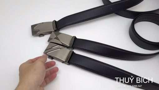Dây nịch nam da PU cao cấp DHM-218 | Đầu khóa dây nịt tăng nguyên khối sang trọng